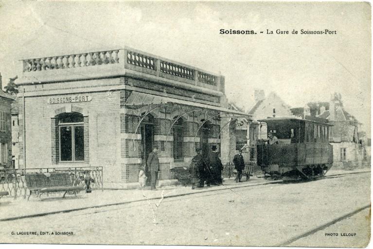Soissons - La Gare de Soissons-Port