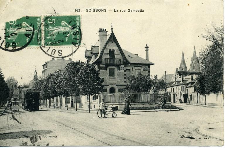 Soissons - La rue Gambetta_0