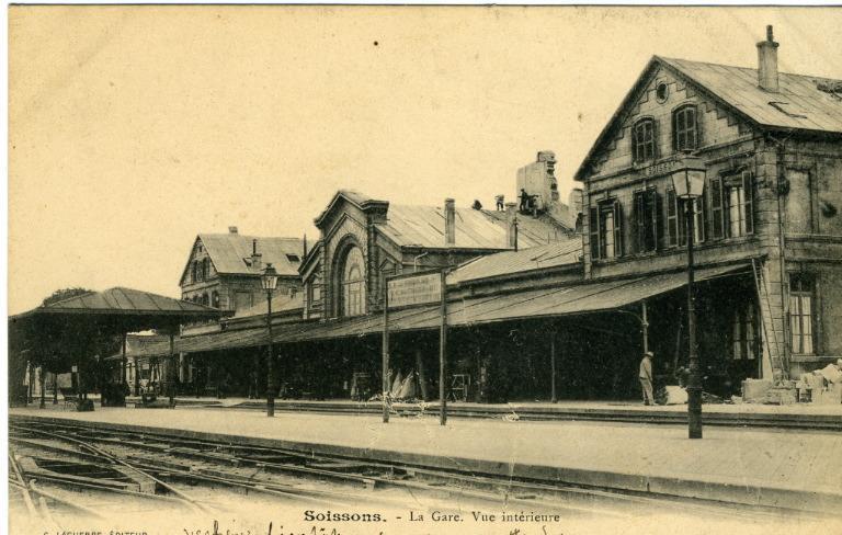 Soissons - La Gare - Vue intérieure
