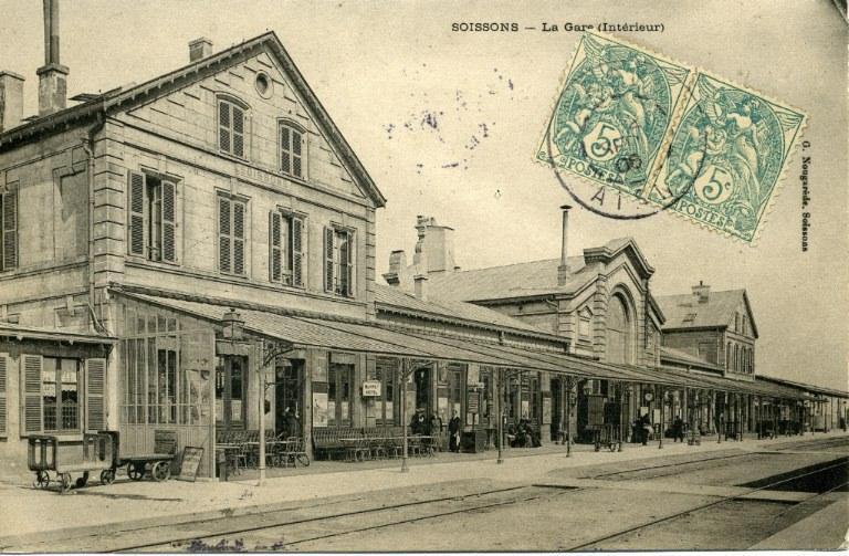 Soissons - La Gare (Intérieur)_0