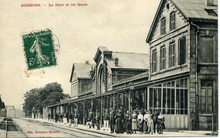 Soissons - La Gare et les Quais_0