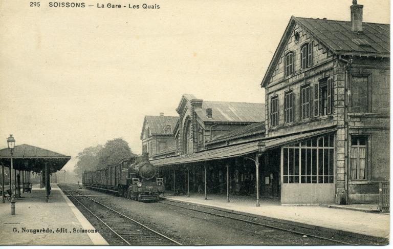 Soissons - La gare - Les Quais_0