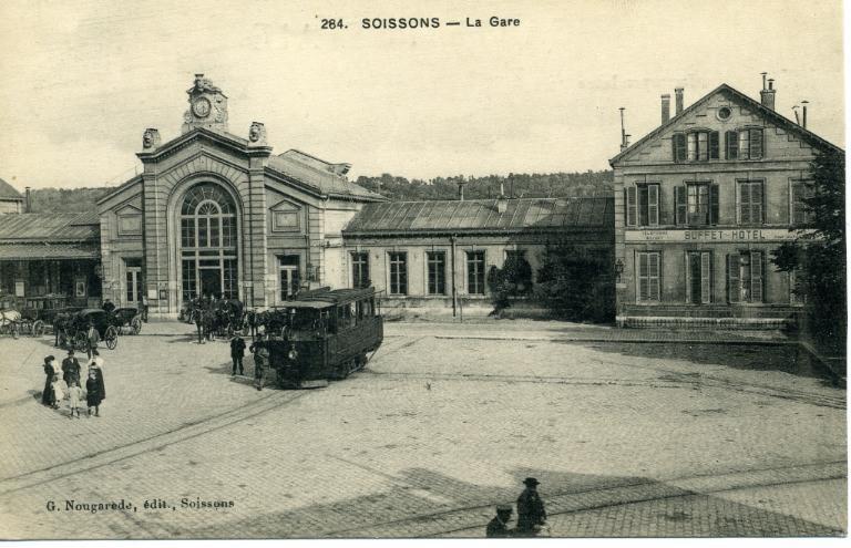 Soissons - La Gare