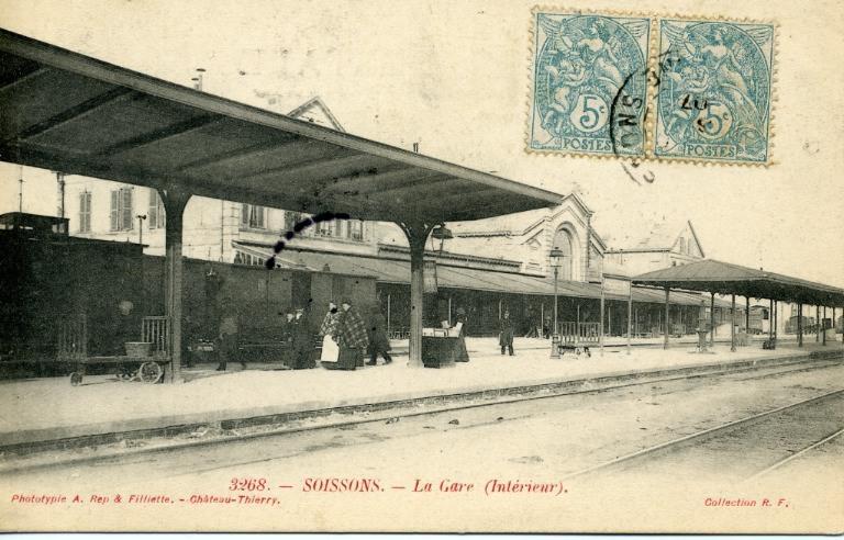 Soissons - La Gare (Intérieur)