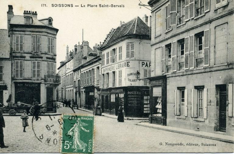 Soissons - La Place Saint-Gervais_0