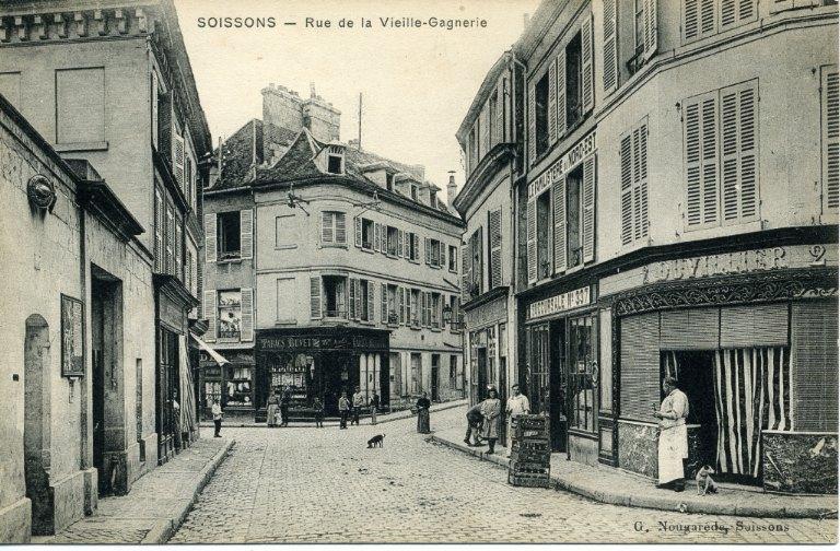 Soissons - Rue de la Vieille-Gagnerie