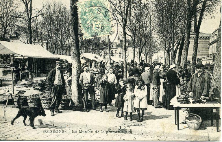 Soissons - Le Marché de la Grande Place_0