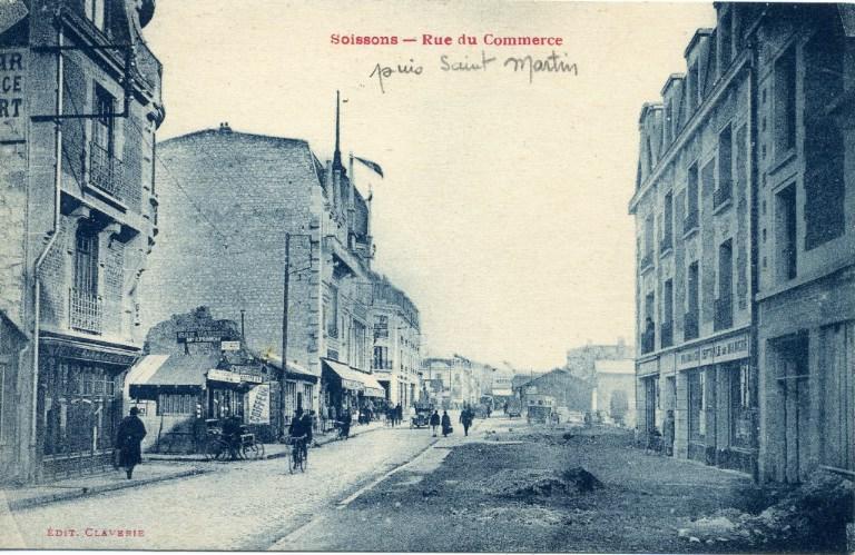 Soissons - Rue du Commerce puis Saint-Martin_0