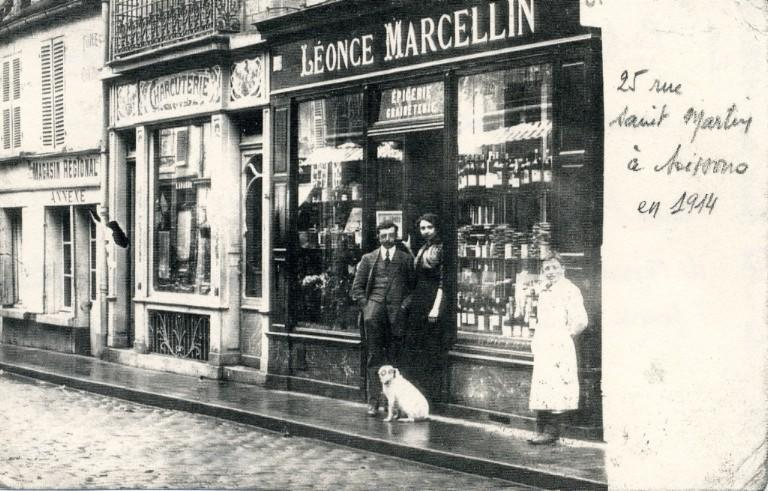 Soissons - 25 rue Saint-Martin en 1914_0