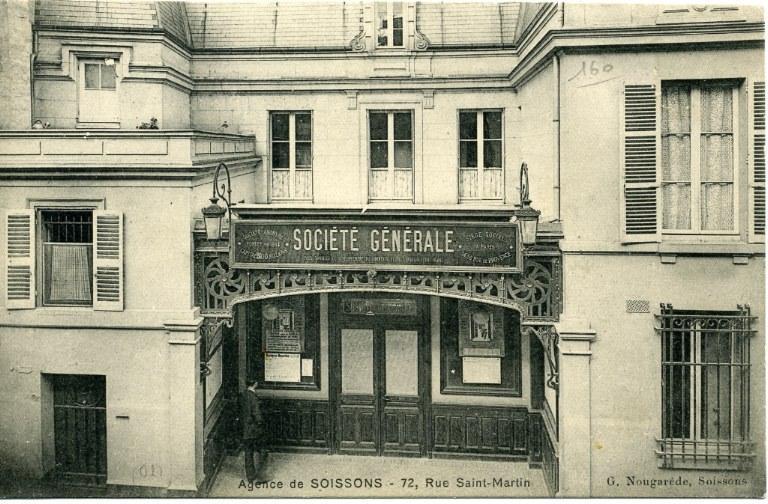 Agence de Soissons, Société Générale_0