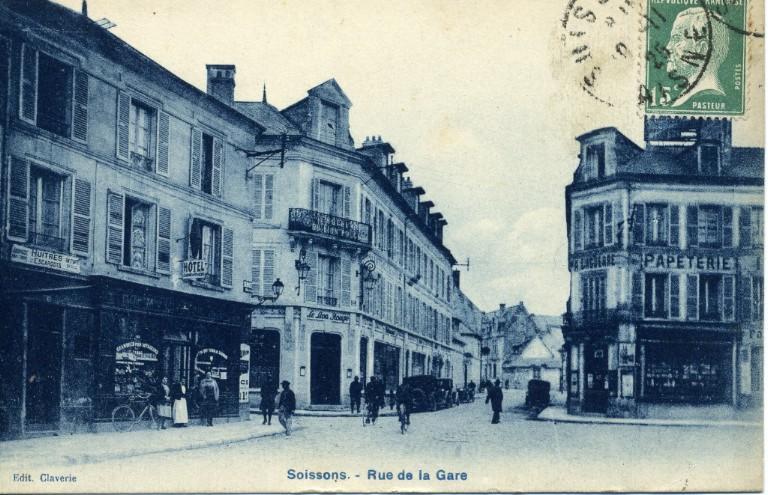 Soissons - Rue de la Gare_0