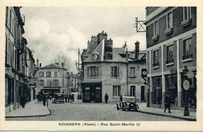 Soissons - Rue Saint-Martin_0