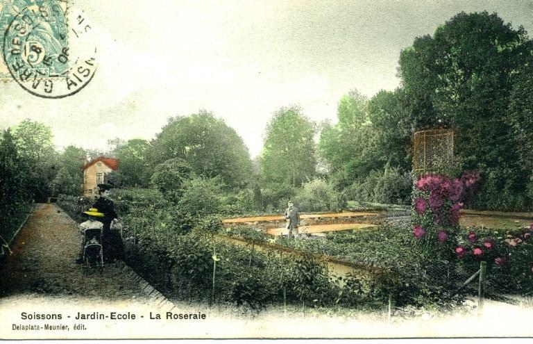 Soissons - Jardin-École - La Roseraie