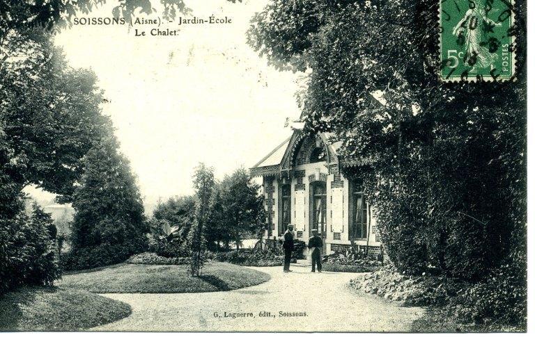 Soissons - Jardin-École -Le Chalet
