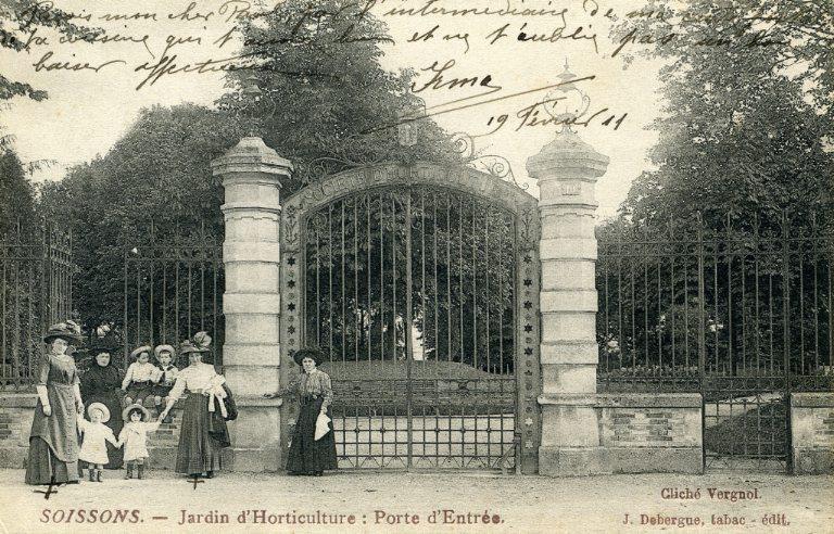 Soissons - Jardin d'Horticulture : Porte d'Entrée