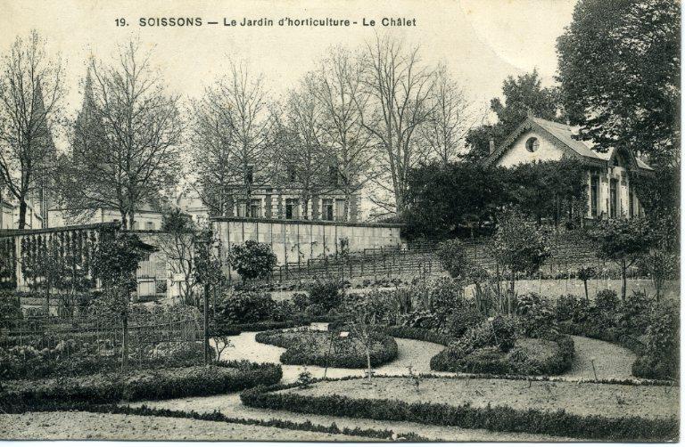Soissons - Le Jardin d'horticulture - Le Châlet_0