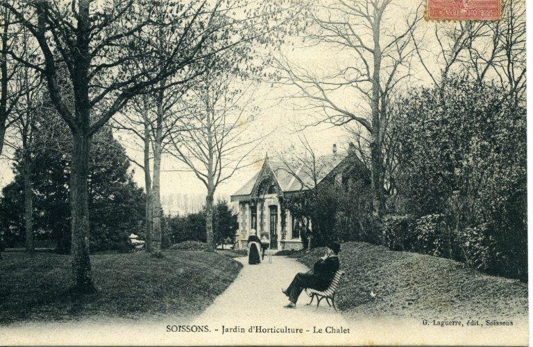 Soissons - Jardin d'Horticulture - Le Chalet