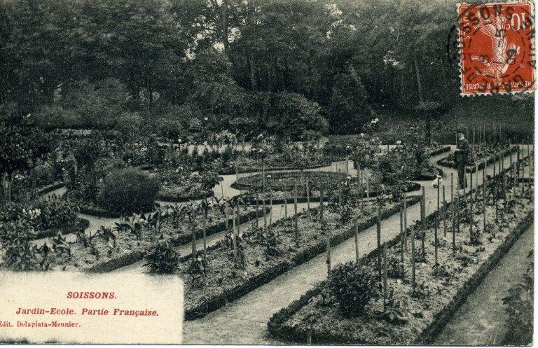 Soissons - Jardin-Ecole - Partie Française_0