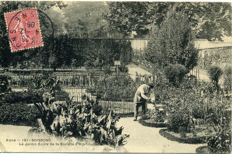Soissons - Le Jardin Ecole de la Société d'Horticulture