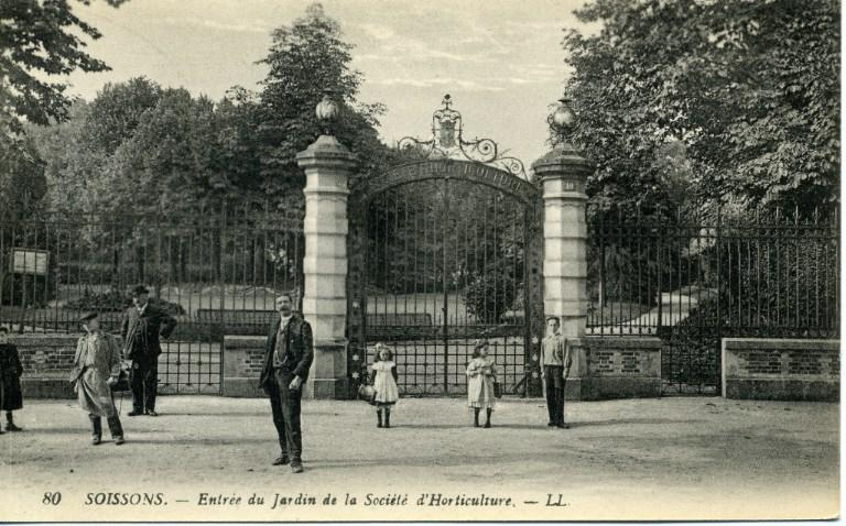 Soissons - Entrée du Jardin de la Société d'Horticulture_0