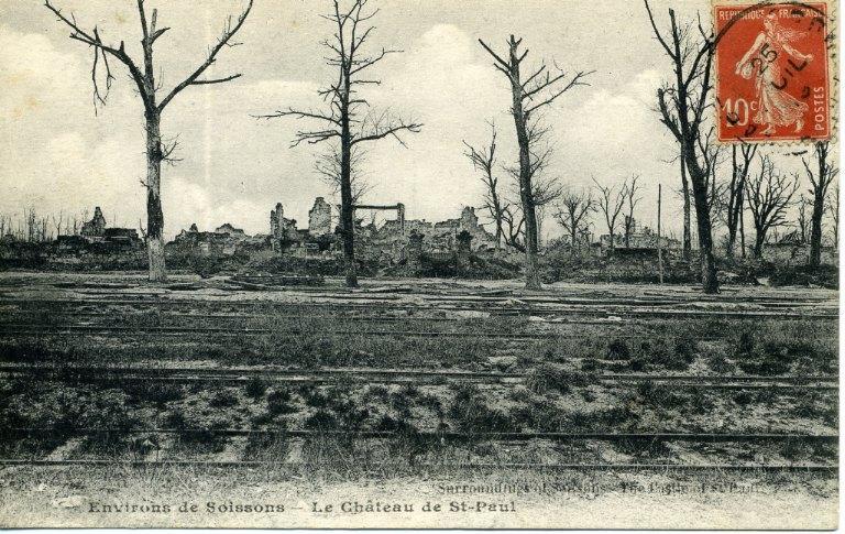 Environs de Soissons - Le Château de Saint-Paul