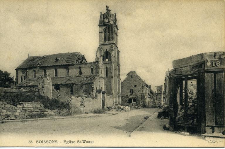 Soissons - Église Saint-Waast_0