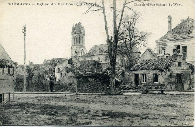 Soissons - Église du Faubourg Saint-Waast_0