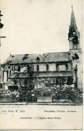 Soissons - L'église Saint-Waast_0