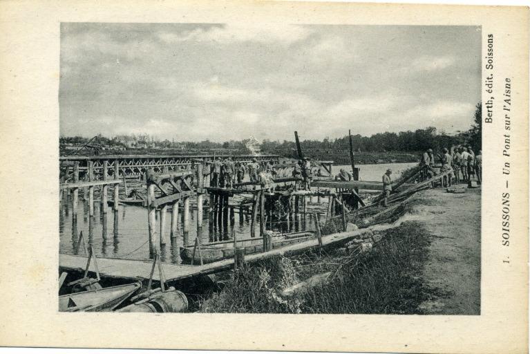 Soissons - Un Pont sur l'Aisne_0