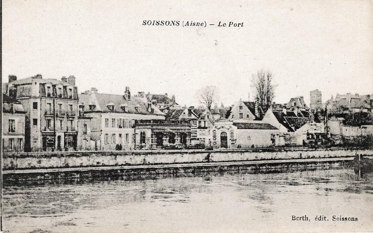 Soissons - Le Port