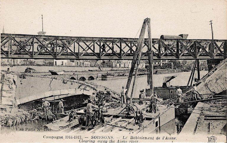 Campagne 1914-1917 - Soissons - Le Déblaiement de l'Aisne_0