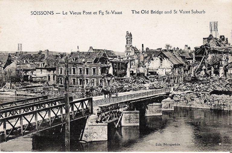 Soissons - Le Vieux Pont et Faubourg Saint-Waast