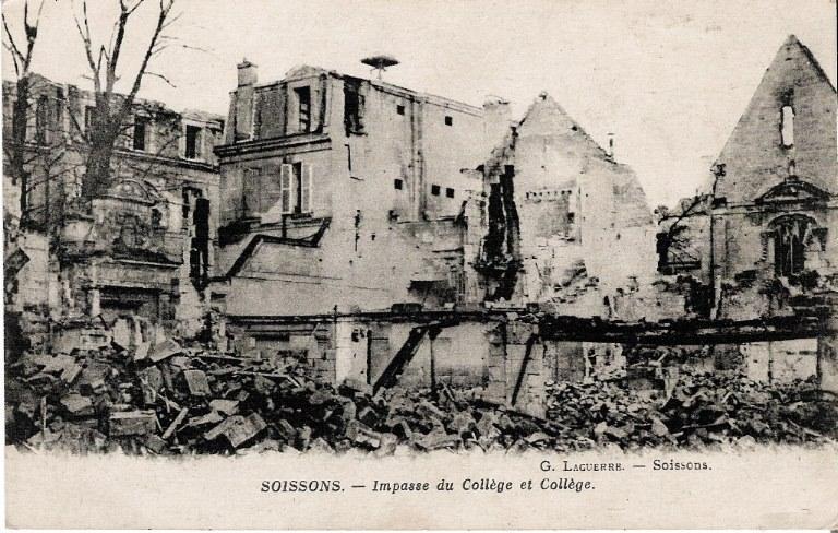 Soissons - Impasse du Collège et Collège_0