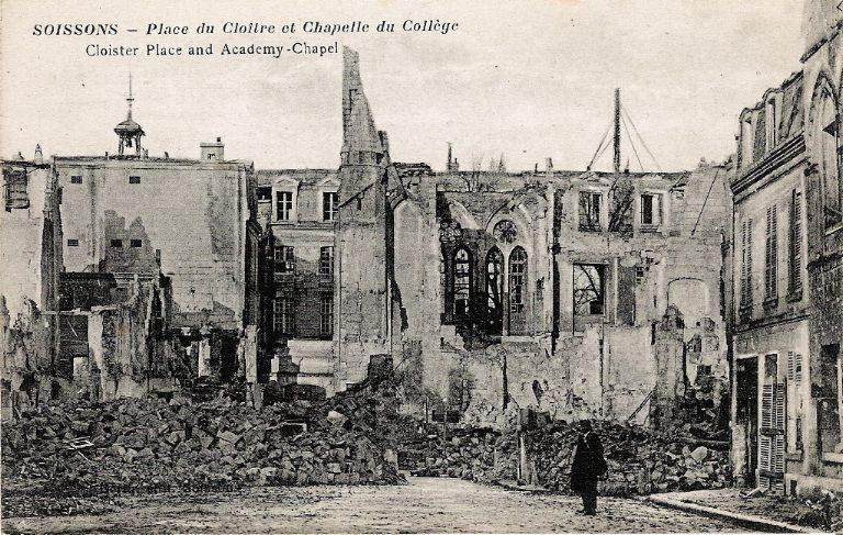 Soissons - Place du Cloître et Chapelle du Collège_0