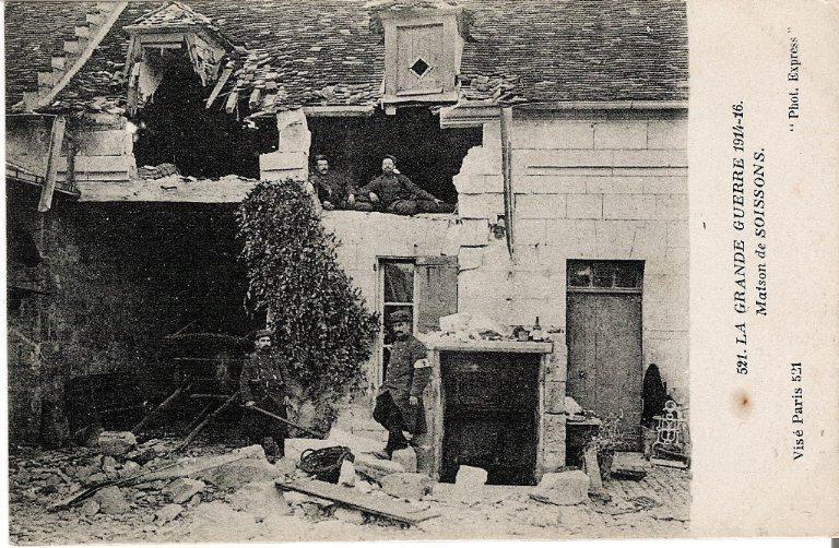 La Grande Guerre 1914-1916 - Maison de Soissons_0