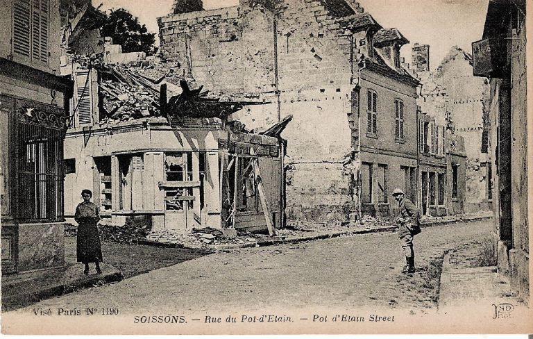 Soissons - Rue du Pot d'Étain