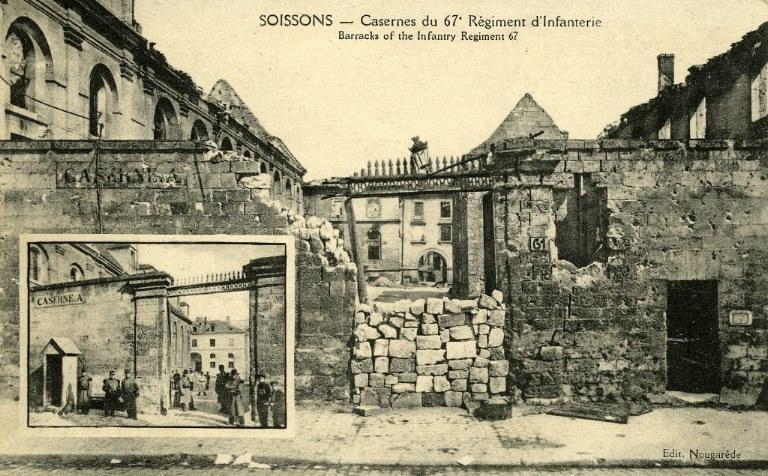 Soissons - Casernes du 67e Régiment d'Infanterie_0