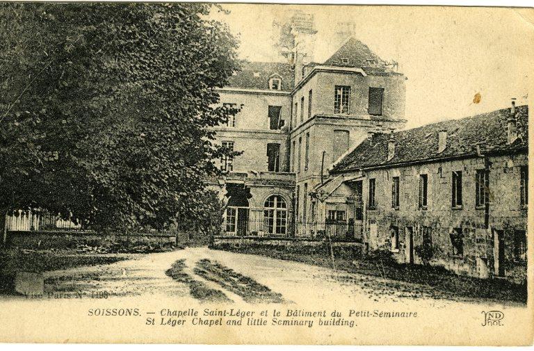Soissons - Chapelle Saint-Léger et le Bâtiment du Petit-Séminaire_0