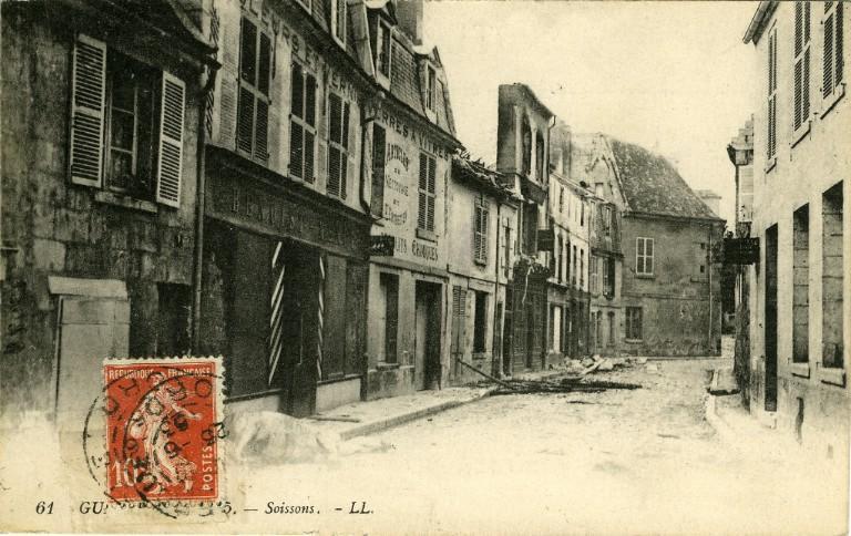 Guerre 1914-1915 - Soissons_0
