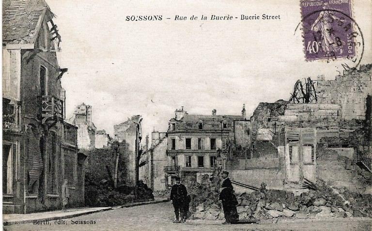 Soissons - Rue de la Buerie