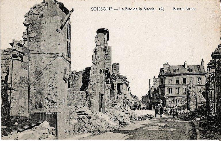 Soissons - La Rue de la Buerie_0