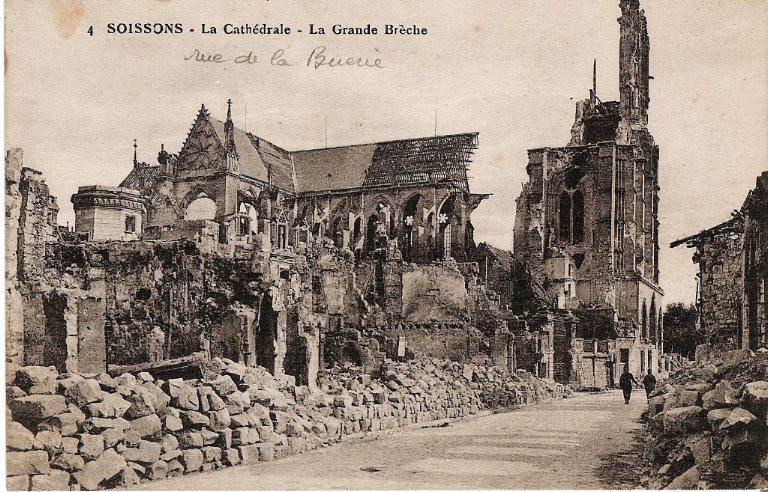 Soissons - La Cathédrale - La Grande Brèche_0