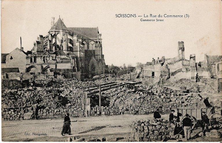 Soissons - La Rue du Commerce_0