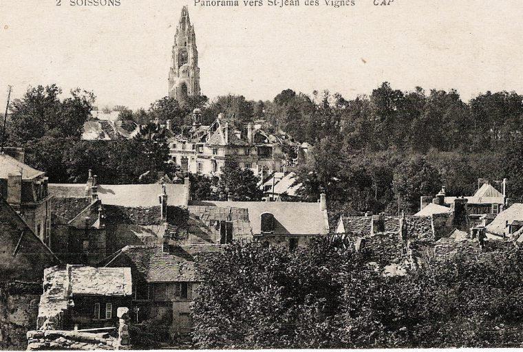 Soissons - Panorama vers Saint-Jean-des-Vignes