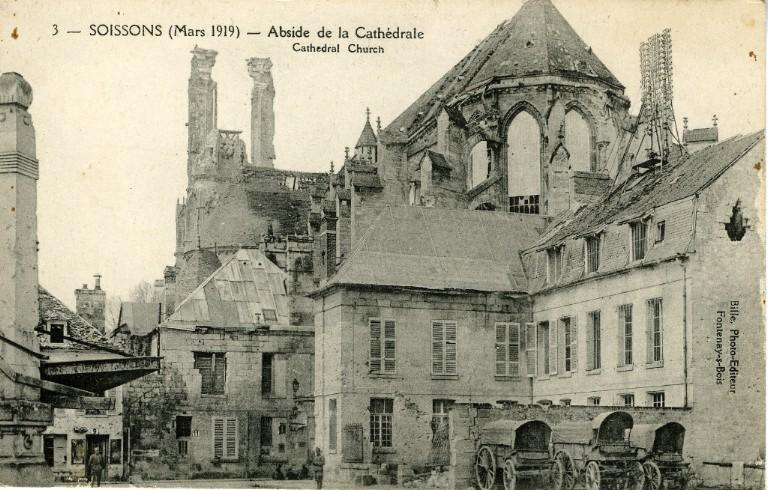 Soissons - Abside de la Cathédrale_0