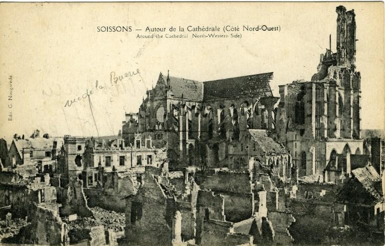 Soissons - Autour de la Cathédrale (côté Nord-Ouest)_0