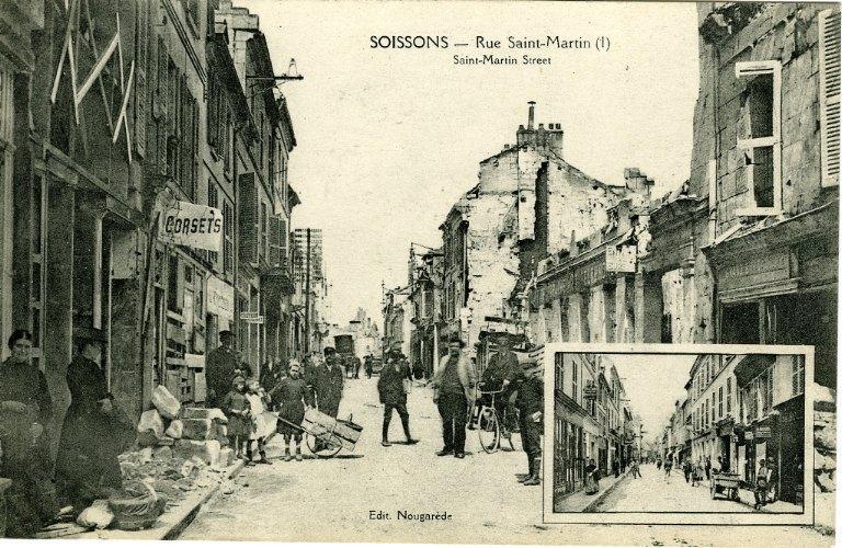 Soissons - Rue Saint-Martin