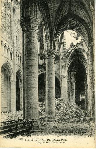 Cathédrale de Soissons - Nef et Bas-Côtés nord_0