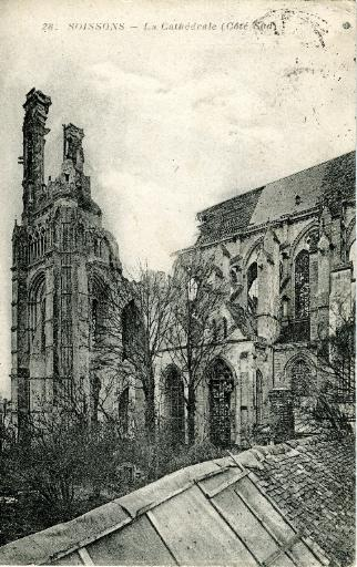 Soissons - La Cathédrale (Côté Sud)_0
