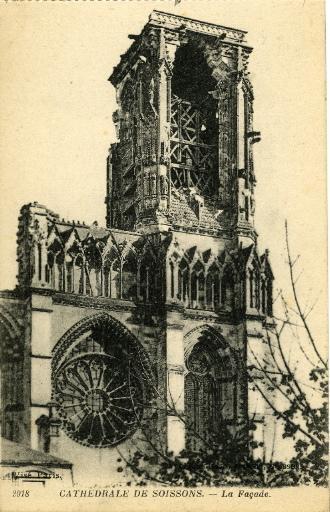 Cathédrale de Soissons - La Façade_0
